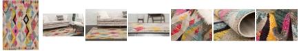 Bridgeport Home CLOSEOUT! Arcata Arc6 Multi 7' x 10' Area Rug