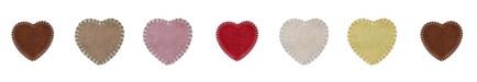 "Home Weavers Hudson Heart Bath Rug 25"" x 25"""