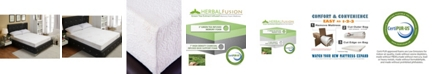 Ac Pacific Green Tea Infused Twin Memory Foam Mattress