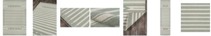 """Erin Gates Thompson Tho-1 Billings Light Green 2'3"""" x 8' Runner Area Rug"""