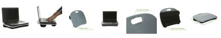 Mind Reader Portable Laptop Lap Desk With Handle, Built