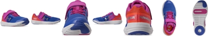Under Armour Little Girls Surge AC Stay Put Closure Running Sneakers from Finish Line