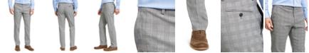 Tommy Hilfiger Plaid TH Flex Stretch Modern-Fit Dress Pants