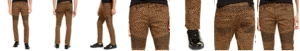 INC International Concepts INC Men's Animal Print Skinny Jeans, Created For Macy's