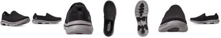 Skechers Men's Wash-A-Wool GoWalk 5 Flint Slip-On Walking Sneakers from Finish Line