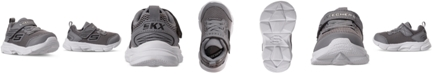 Skechers Toddler Boys Advance Intergrid Stay-Put Closure Casual Athletic Sneakers from Finish Line