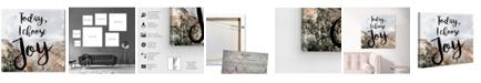 "Oliver Gal I Chose Joy Desert Canvas Art, 24"" x 24"""