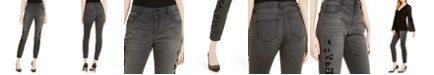 INC International Concepts INC  Flocked Leopard-Print Skinny Jeans, Created For Macy's