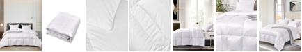 Elle Decor Ultra-Soft Nano-Touch Light Warmth White Down Fiber Comforter, Twin