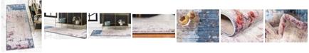 "Jill Zarin Greenwich Village Downtown Jzd006 Multi 2'2"" x 6' Runner Rug"