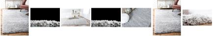 Marilyn Monroe Shag Mms001 Silver Screen 8' x 10' Area Rug