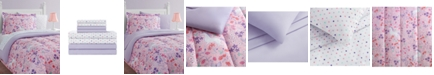 Mytex Unicorn Floral 11-Piece Full Bed in a Bag Set