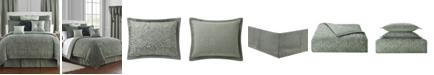 Waterford Garner Reversible Queen 4 Piece Comforter Set