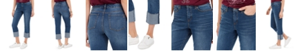 Style & Co High-Rise Crop Straight-Leg Jeans, Created For Macy's