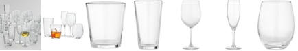 Martha Stewart Collection 30-Pc. Glassware Set, Created for Macy's