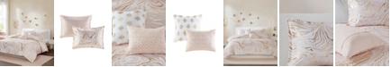 Intelligent Design Rebecca Metallic Printed 4-Piece Twin/Twin XL Comforter Set