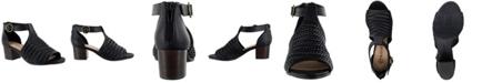 Bella Vita Ripley II Women's Woven Block Heel Sandals
