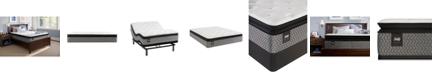 "Sealy Essentials Coral 13"" Plush Euro Pillow Top Mattress - Full"