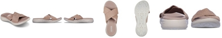 Skechers Women's On The Go 600 - Glistening Athletic Sandals from Finish Line