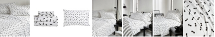 Karl Lagerfeld Paris Sunglasses 4 Piece Sheet Set, Full