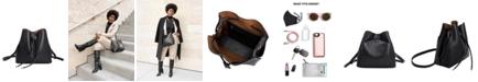 Melie Bianco Leia Vegan Leather Shoulder Bag