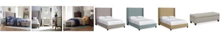 Furniture Rosalind Upholstered Bedroom Furniture Collection