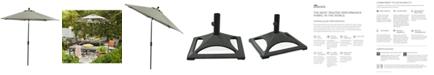 Furniture Marlough Outdoor 9' Umbrella with Sunbrella® Fabric, Created for Macy's