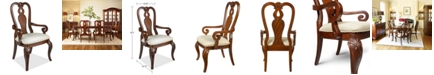 Furniture Closeout! Bordeaux Dining Chair, Queen Anne Arm Chair, Created for Macy's