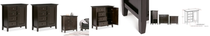 Simpli Home Canton Medium Storage Cabinet