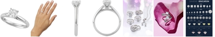 Macy's Star Signature Diamond Solitaire Engagement Ring (1 ct. t.w.) in 14k White or Yellow Gold