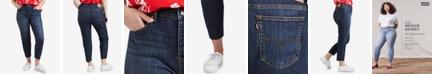 Levi's Trendy Plus Size  High-Waist Skinny Wedgie Jeans