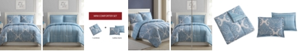 Ellison First Asia Medallions 3-Pc. Reversible Comforter Sets, Created for Macy's