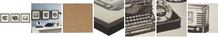 JLA Home Intelligent Design Vintage Models 3-Pc. Gel-Coated Print Shadowbox Set