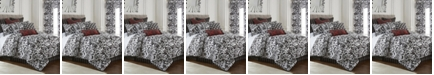 Colcha Linens Scrollwork Comforter Set-Twin