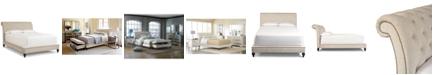 Furniture Victoria Upholstered King Bed