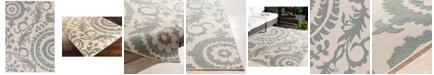"Surya Alfresco ALF-9614 Sage 7'6"" x 10'9"" Area Rug, Indoor/Outdoor"