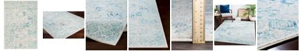 "Surya Harput HAP-1089 Aqua 9'3"" x 12'6"" Area Rug"