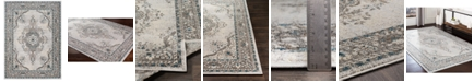 "Surya Varanasi VAR-2311 Medium Gray 7'10"" x 10'3"" Area Rug"