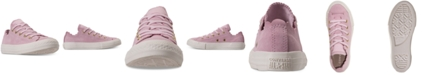 Converse Little Girls' Chuck Taylor All Star Low Top Frilly Thrills Casual Sneakers
