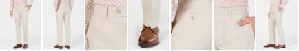 Bar III Men's Slim-Fit Linen Tan Suit Pants, Created for Macy's