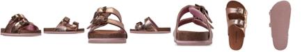 BEARPAW Girls' Brooklyn Slide Sandals from Finish Line