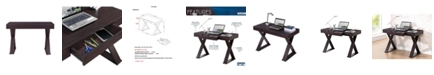 RTA Products Techni Mobili Trendy Writing Desk, Quick Ship