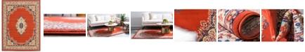 "Bridgeport Home Birsu Bir1 Terracotta 9' 10"" x 13' Area Rug"