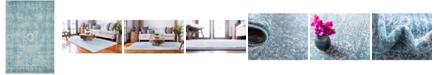 Bridgeport Home Wisdom Wis3 Light Blue 4' x 6' Area Rug