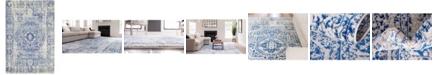 Bridgeport Home Wisdom Wis3 Ivory 4' x 6' Area Rug