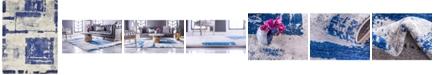 Bridgeport Home Wisdom Wis4 Navy Blue 9' x 12' Area Rug