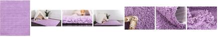 Bridgeport Home Exact Shag Exs1 Lilac 12' x 15' Area Rug