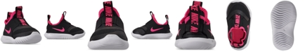 Nike Toddler Girls' Flex Runner Slip-On Athletic Sneakers from Finish Line