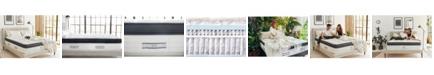 "Brentwood Home Oceano 14"" Gel Memory Foam Medium Eurotop Hybrid Mattress - Twin Size"