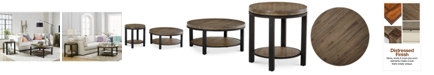 Furniture Canyon Round Table Furniture Collection, Created for Macy's